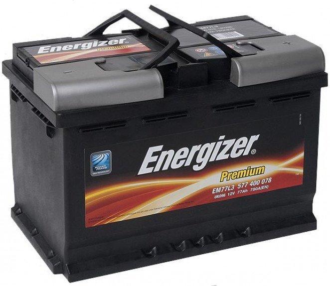 Energizer Premium 77Ah 780A