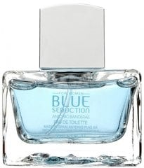 Tualetes ūdens Antonio Banderas Blue Seduction For Woman edt, 80 ml