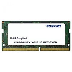 Patriot 8GB Signature Line DDR4 2400 MHz DIMM cena un informācija | Patriot 8GB Signature Line DDR4 2400 MHz DIMM | 220.lv