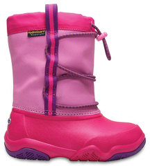 Zābaki Crocs™ Swiftwater Waterproof Boot, Party Pink / Candy Pink