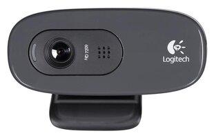 Web-kamera ar mikrofonu Logitech HD C270 cena un informācija | Web-kamera ar mikrofonu Logitech HD C270 | 220.lv