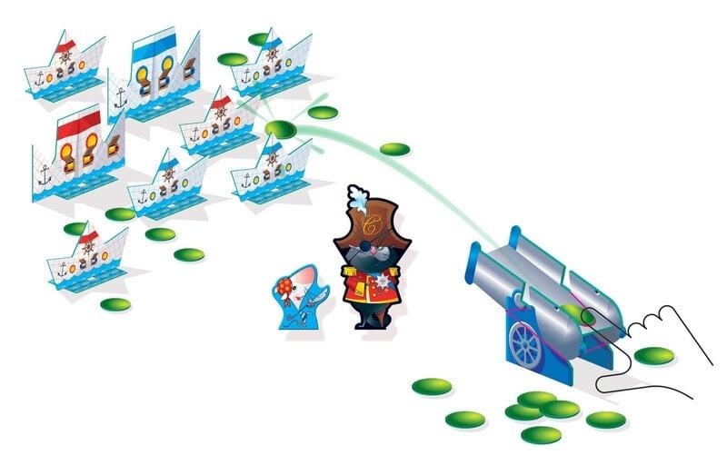 Attīstības galda spēle Step Puzzle Ship's Cat cena