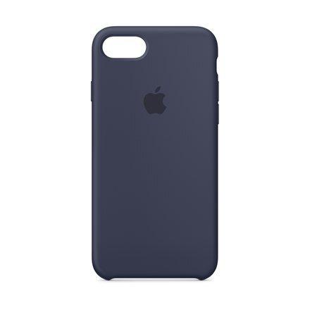 Apple iPhone 8/7 silikona apvalks (Midnight Blue)