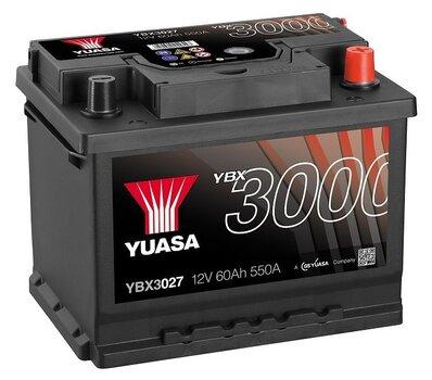 Yuasa 60Ah 12V 550A YBX3027