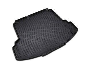 Gumijas bagāžnieka paklājs VW Jetta 2005-2010 black /N41009 cena un informācija | Bagāžnieka paklājiņi pēc auto modeļiem | 220.lv