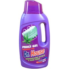 Dr. House средство для стирки Marseille & aloe vera, 1,5 л цена и информация | Моющие средства | 220.lv