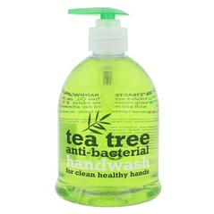 Antibakteriālas šķidrās ziepes Xpel Tea Tree Anti-Bacterial 500 ml