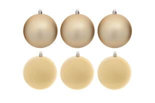 Ziemassvētku rotājumi, 6 gab. cena un informācija | Eglīšu rotājumi | 220.lv