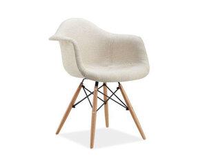 2 krēslu komplekts Bono, dižskabārdis / krēmkrāsa