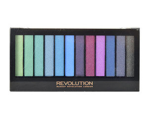 Acu ēnu palete Makeup Revolution London Redemption Mermaids vs Unicorns 14 g