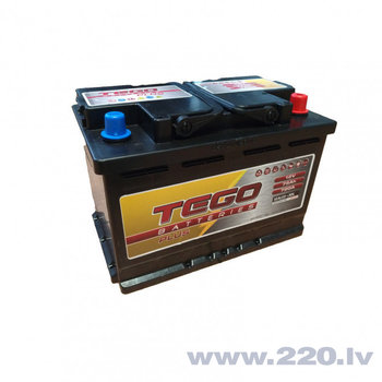 Tego Plus 75Ah 720A