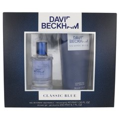 Komplekts David Beckham Classic Blue: EDT 40 ml + dušas želeja 200 ml