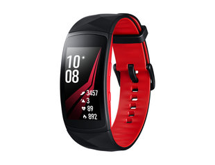 Samsung Gear Fit2 Pro SM-R365 Black/Red, размер: L