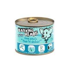 Barking Heads konservi suņiem ar zivīm Tiny Paws Fish-n-Delish , 200 g