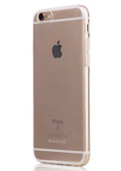 Nake MP-8027 apvalks priekš Apple iPhone 6/6S Caurspīdīgs