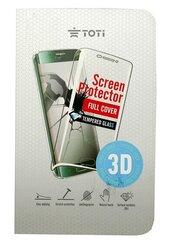 TEMPERED glass 3D full cover ekrāna aizsargstikls priekš Samsung Galaxy S8 (Black)