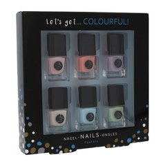 Лак для ногтей 2K Let´s Get Colourful Nail Polish: 6 x 5 мл