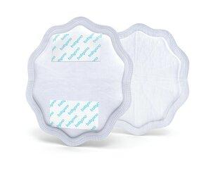 BabyOno vienreizējās lietošanas krūštura ieliktņi Natural Nursing, 298/01, balti, 24 gab.