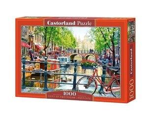 Puzle Castorland Amsterdam Landscape, 1000 det. cena un informācija | Puzles, 3D puzles | 220.lv