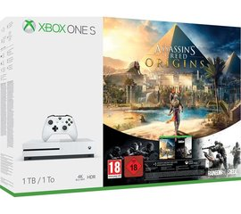 Microsoft Xbox ONE S 1TB + Assassins Creed Syndicate + Tom Clancys Rainbow Six Siege
