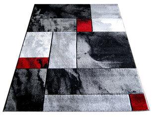 Paklājs Fantazija 03 Grey/red, 133 x 180 cm