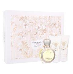 Komplekts Versace Eros Pour Femme: edt 50 ml + dušas želeja 50 ml + ķermeņa losjons 50 ml