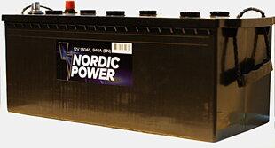 Nordic Power 180 Ah 940A 12V