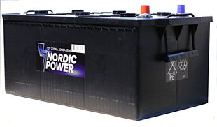 Nordic Power 225 Ah 1200A 12V