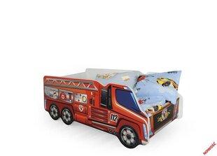 Кровать с матрасом Fire Truck