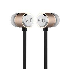 Vidvie HS605 Modern Universal Headset With Microphone Gold