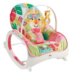Bērnu šūpuļkrēsls Fisher Price Infant to Toddler Rocker, pink