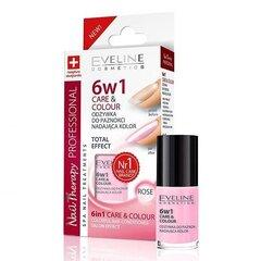Кондиционер для ногтей + лак Eveline Nail Therapy Care&Colour 6in1 5 мл