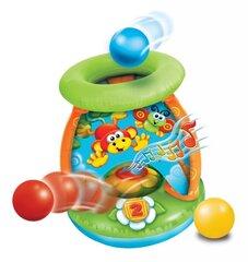 """Muzikālā rotaļlieta """"Mesk ir ridenk"""" piepūšamā Play Wow"""