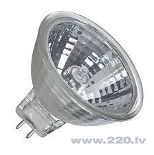 Halogēna reflektora spuldze MR16 35W 220-240V Greelux
