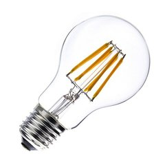 LED filament spuldze 6W E27 220-240V Greelux