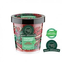 Очищающий скраб для тела Organic Shop Body Desserts Pomegranate Sugar Sorbet 450 мл