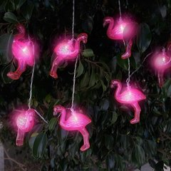 LED virtene Flamingo