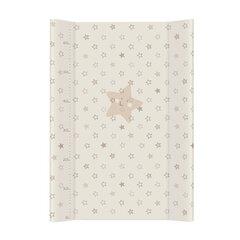 Pārtināmā virsma CebaBaby zvaigznes, brūna, cieta, 70 cm