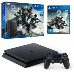 Sony PlayStation 4 (PS4) Slim, 500 GB + DESTINY 2