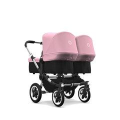 Bugaboo коляска для близнецов Donkey² Twin, Alu&Soft Pink