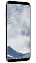 Samsung Galaxy S8 Plus 64GB (G955), Sudrabains