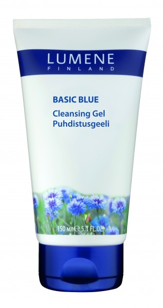 Attīroša želeja Lumene Basic Blue 150 ml