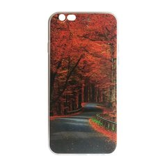 Mocco Trendy Autumn Road Silicone Back Case for Samsung G950 Galaxy S8