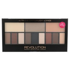 Acu ēnu palete Makeup Revolution London Ultra Eye Contour Light & Shade 14 g