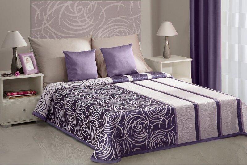 Divpusīgs gultas pārklājs SUE, 220x240 cm