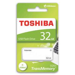 Atmiņas karte Toshiba U203, 32GB USB 2.0, balta