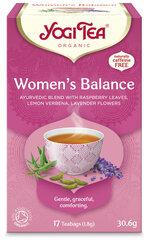 Tēja Yogi Tea® Women's Balance, 17 paciņas(30,6 g) cena un informācija | Tēja Yogi Tea® Women's Balance, 17 paciņas(30,6 g) | 220.lv