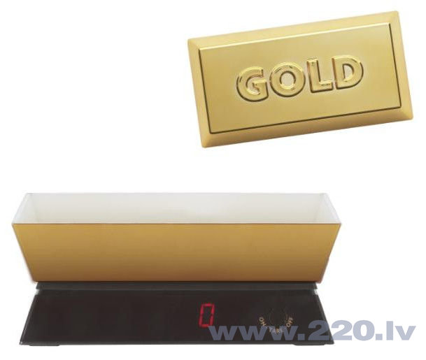 Кухонные весы ViceVersa Kitchen Scale 5kg gold 12982 цена