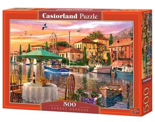 Пазл Puzzle Castorland Sunset Harbour, 500 дет.