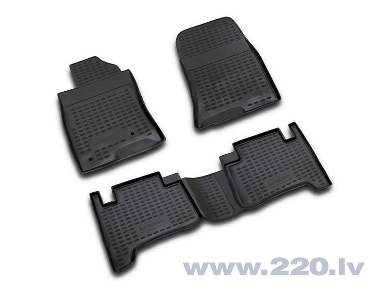 3D TOYOTA Land Cruiser Prado 2003-2009, 4 pcs. /L62074